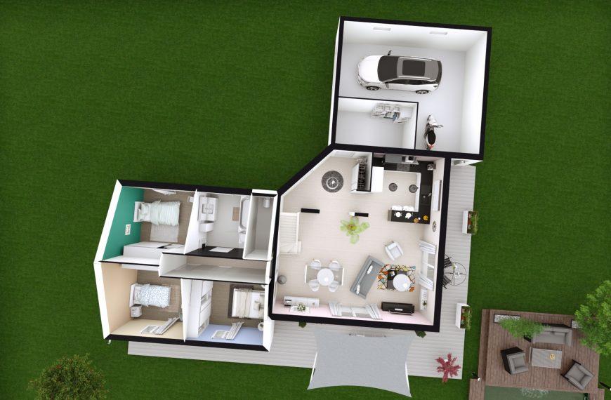 maison à faire construire design