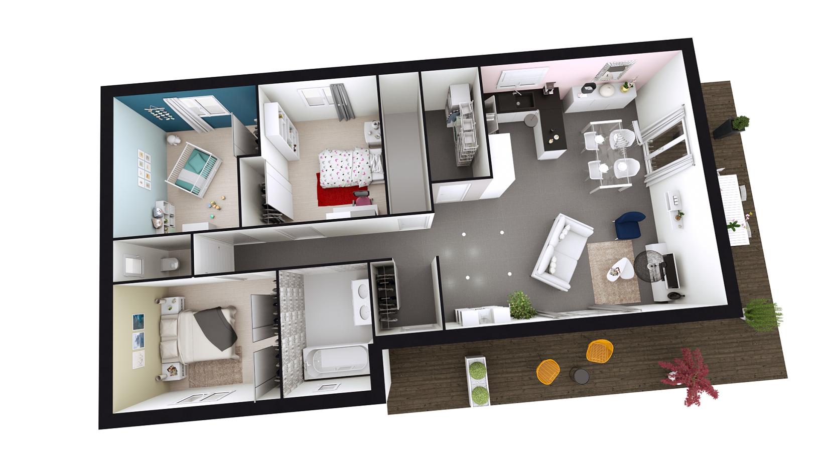 Plan De Maison Avec Sous Sol Complet Infos Et Ressources 12