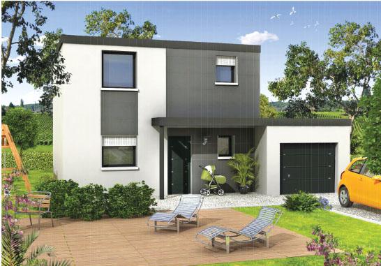 st maurice de lignon maison t4 toiture terrasse logivelay. Black Bedroom Furniture Sets. Home Design Ideas