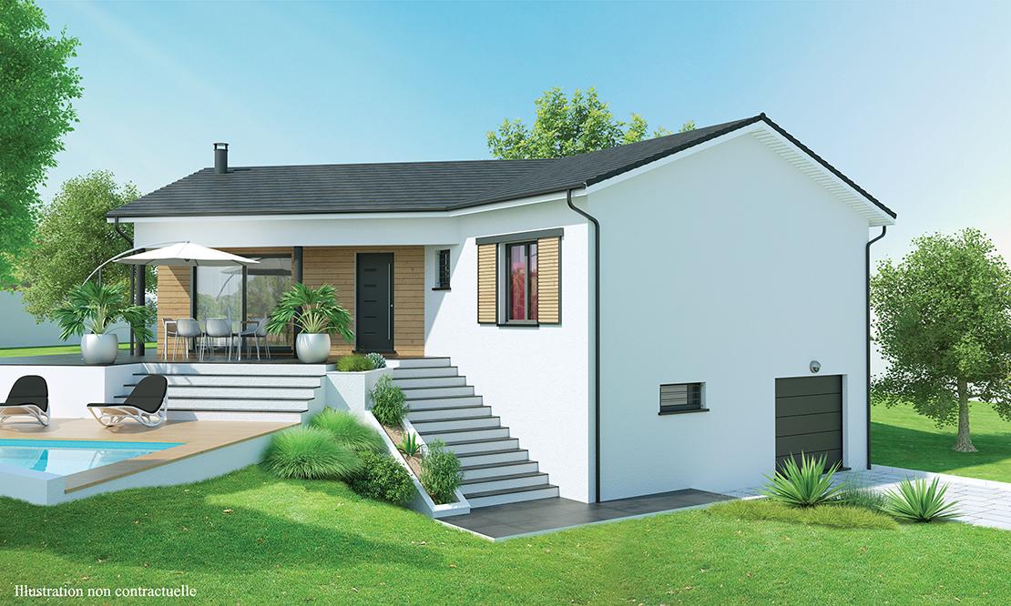 maison contemporaine sous sol complet r ve d 39 ailleurs. Black Bedroom Furniture Sets. Home Design Ideas