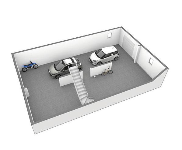 Maison moderne à étage