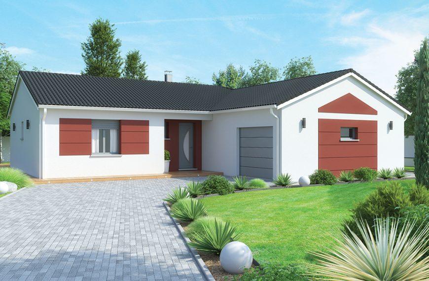 maison ARKOZE plain-pied configuration L