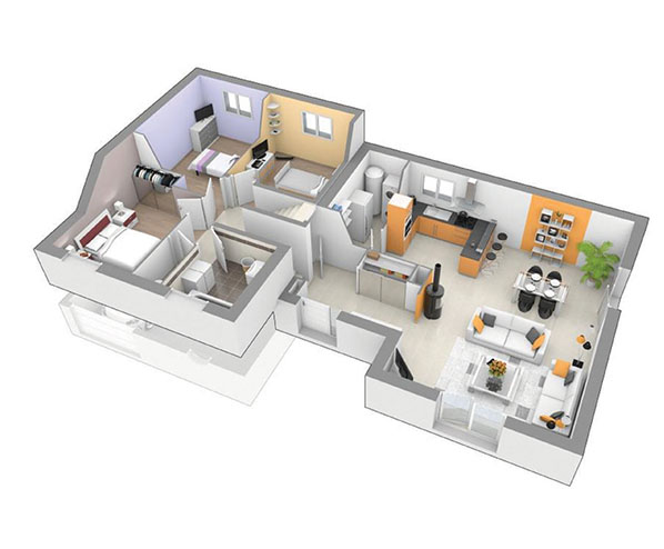 Offres terrain maison logivelay for Chambre d assurance de dommages