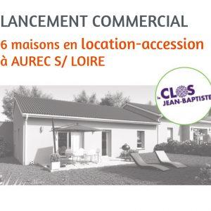 achetez une maison en location-accession à Aurec sur Loire !