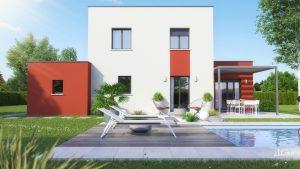 maison étage design EMMA