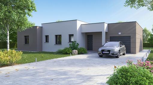 Maison Plain Pied Design. Elegant Plans De Maison Plainpied With ...