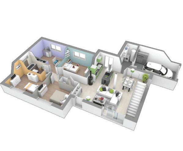 maison moderne avec mezzanine proche issoire maison moderne avec mezzanine proche issoire - Maison Moderne Avecmezzanine
