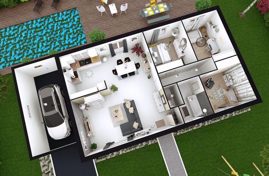Maison de plain pied St Paulien 43350