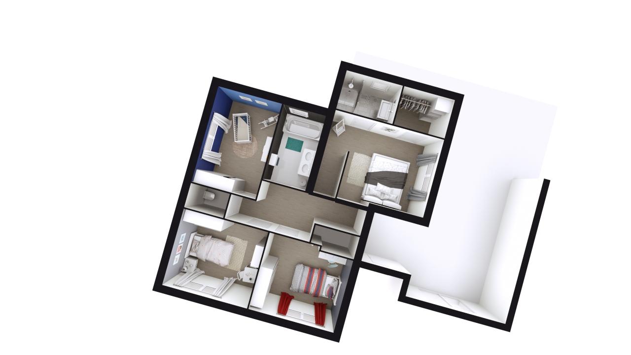 Maison Design Demi Etage Toit Plat Clara Logivelay