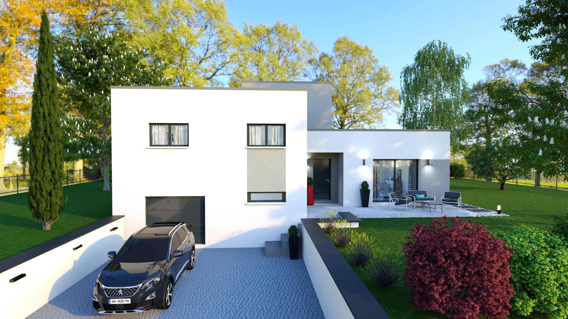 Perle Maison Sous Sol Avec Toiture Terrasse 3 Chambres