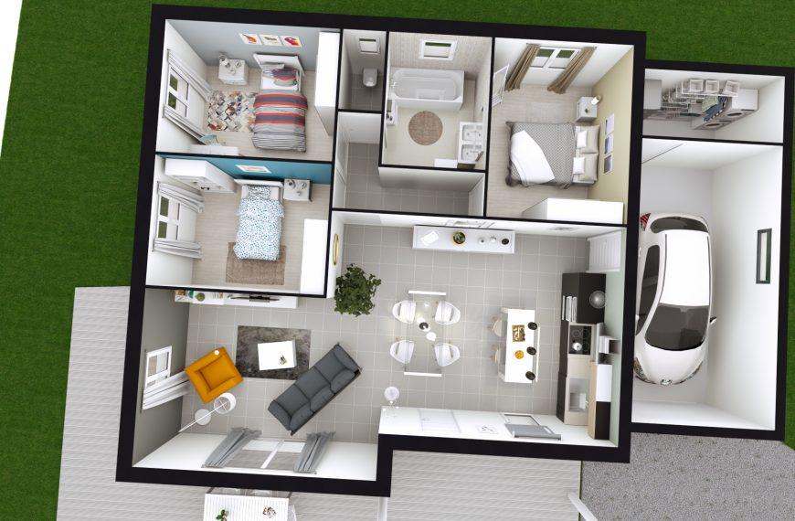 Plain-pied 3 chambres Blavozy 43700