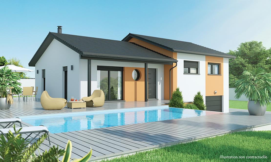 Maison Moderne 1 2 Etage Rayon De Soleil Logivelay