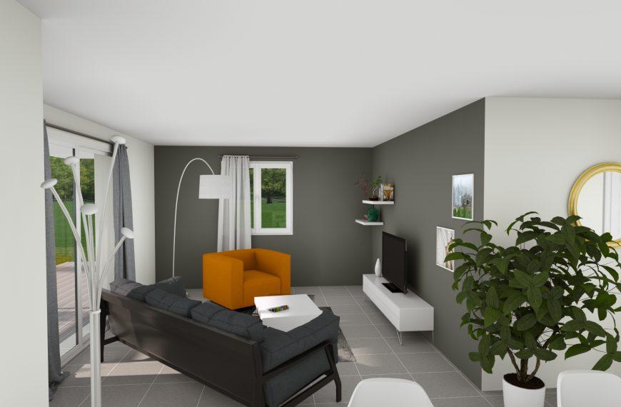 Maison plain pied contemporaine Fay la Triouleyre 43700