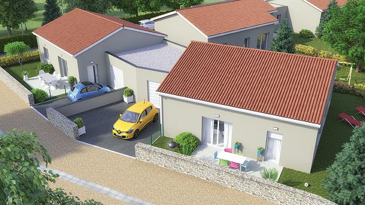 maison location accession Chaspuzac 43320