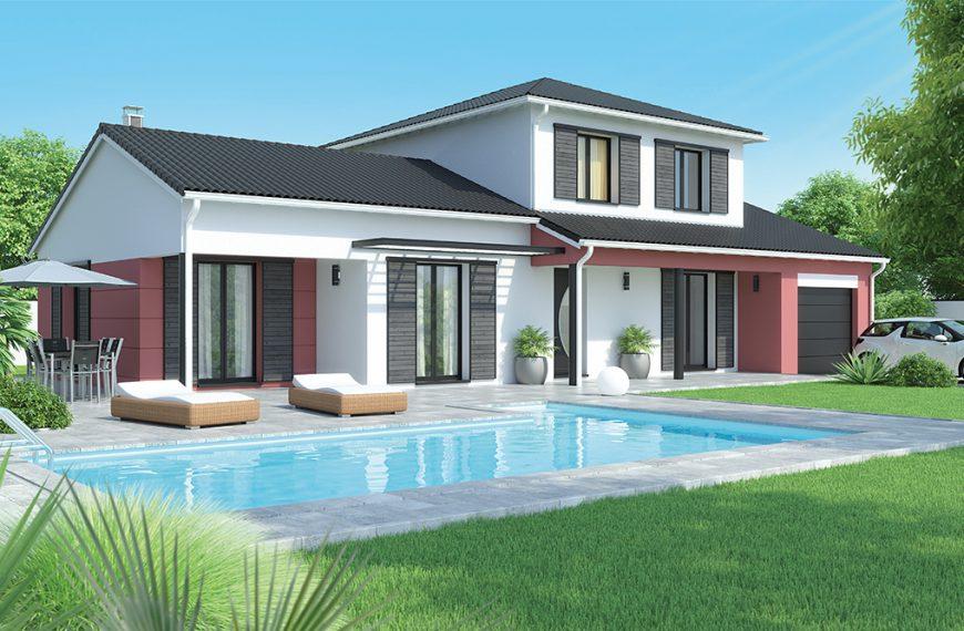 Maison contemporaine étage près Issoire 63500