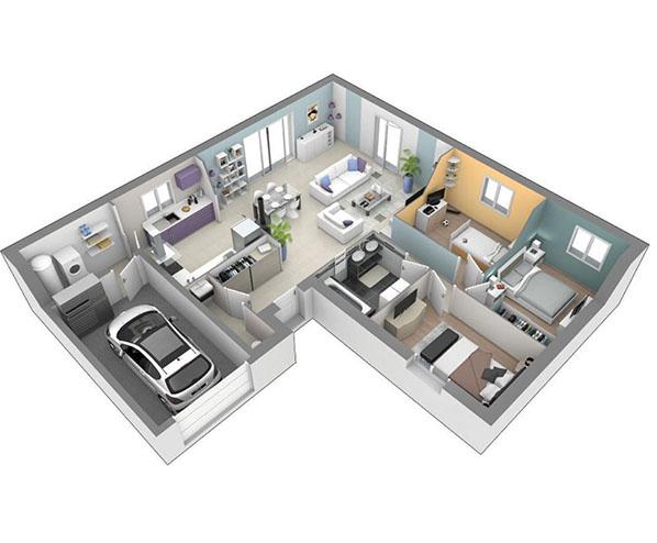 maison plain-pied moderne Yssingeaux 43200