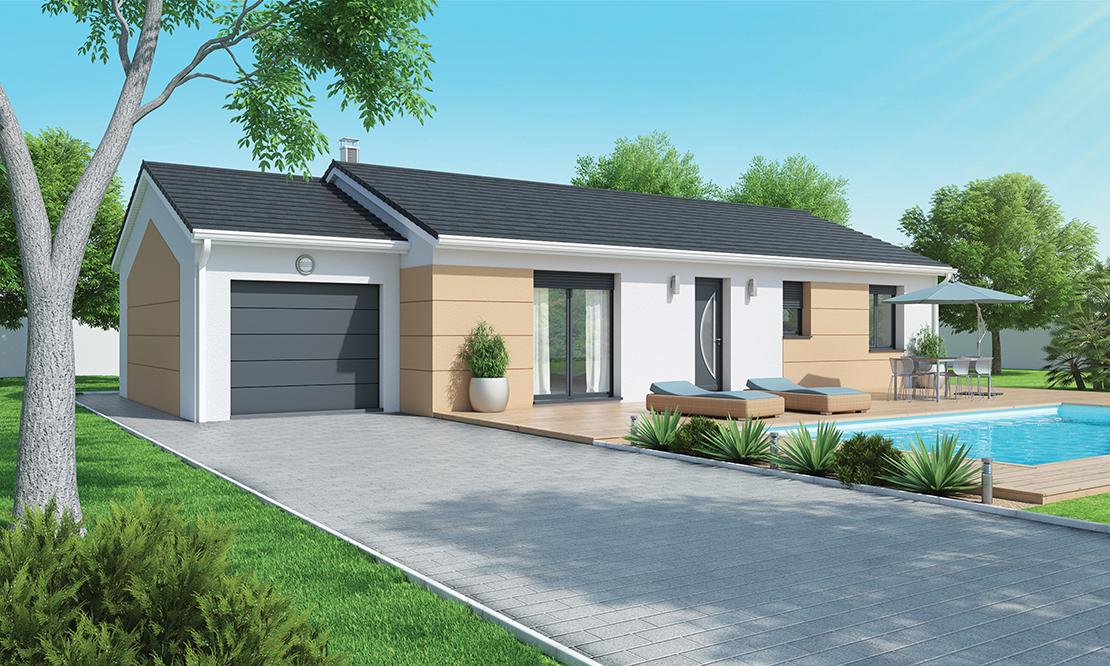 maison plain pied contemporaine pres issoire 63500. Black Bedroom Furniture Sets. Home Design Ideas