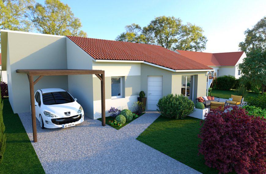 Maison plain-pied économique à Vorey 43800