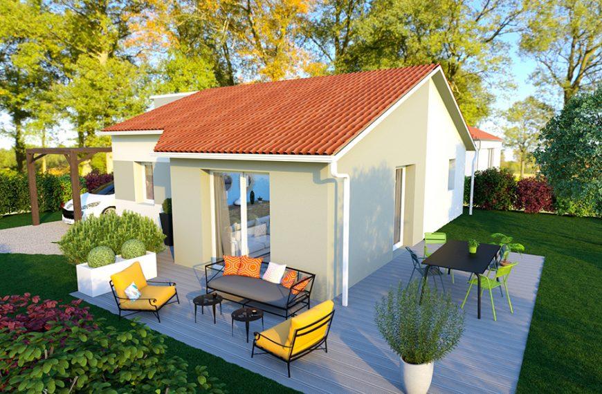 Maison plain-pied idéal petit budget à YSSINGEAUX 43200