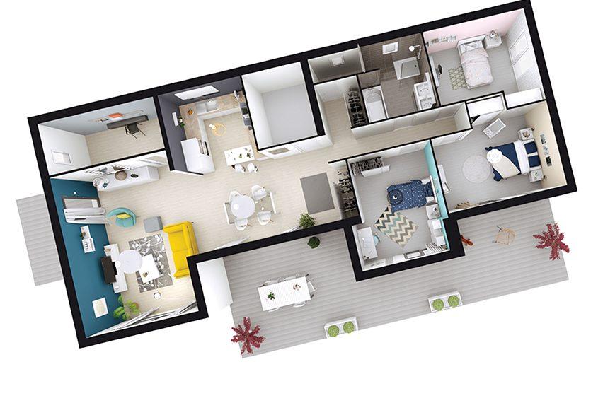 Faire construire une maison design avec toit plat