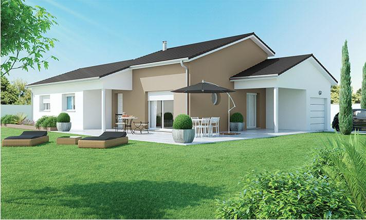 Maison contemporaine à Saint Pal de Mons 43620