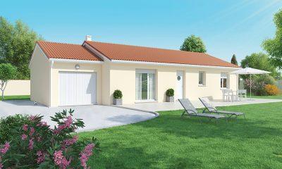 Faire construire une maison de plain-pied près Issoire 63500.