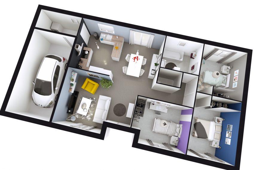 Maison plain-pied contemporaine à Chadrac 43770