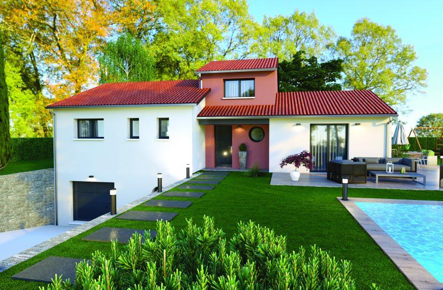 Maison contemporaine à Saint Maurice de Lignon 43200