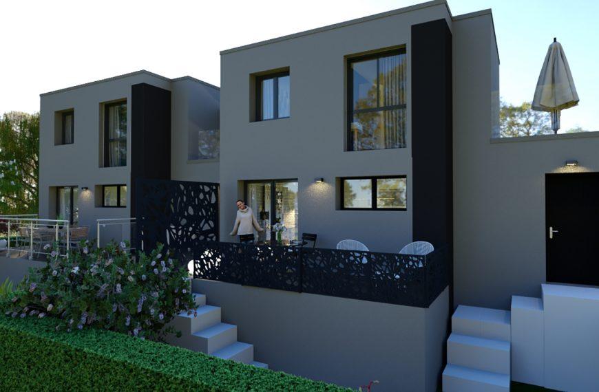 Maison design plein coeur de Brives-Charensac 43700
