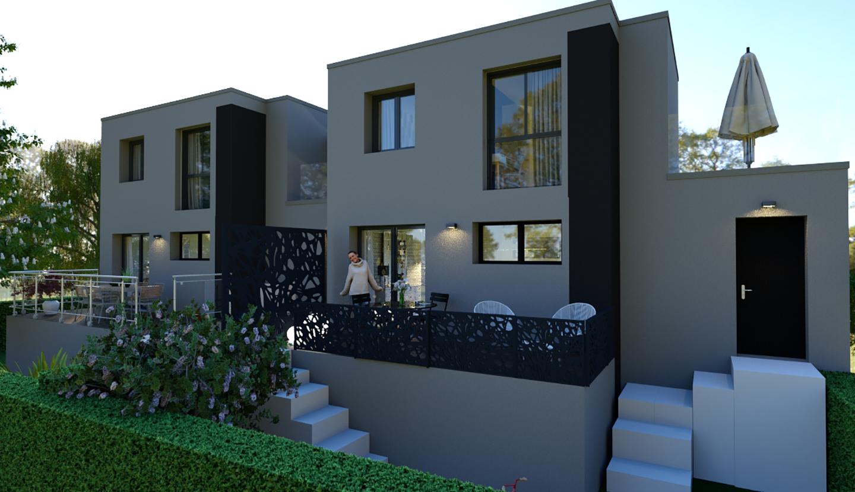 Maison design plein coeur de brives charensac 43700