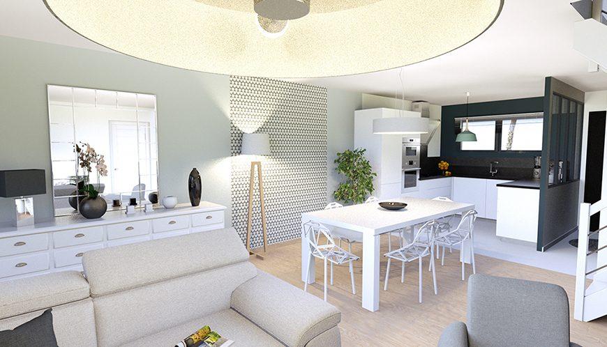 Maison design à faire construire plein coeur de Brives-Charensac 43700