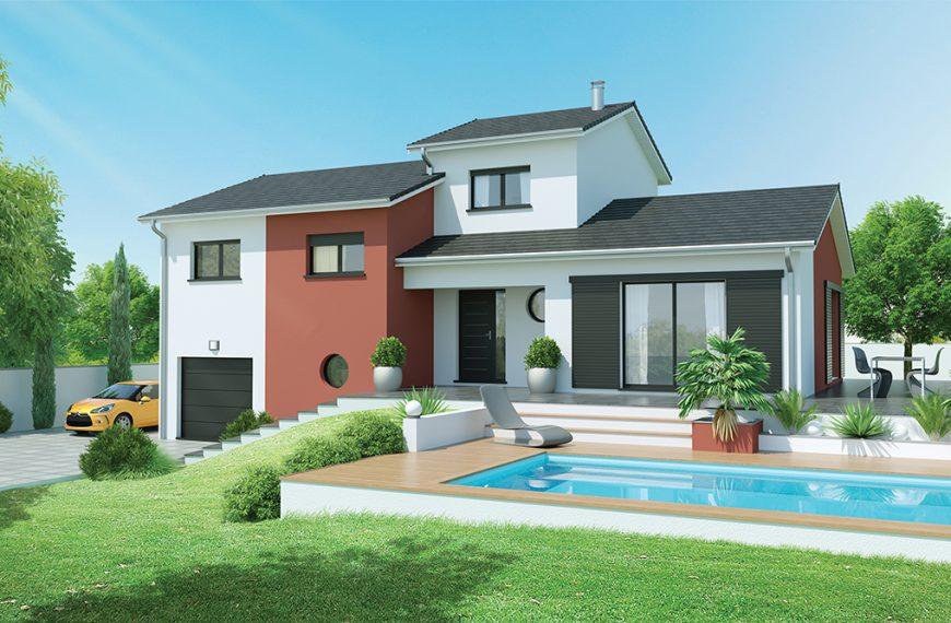 maison contemporaine à Saint Germain-Laprade 43700