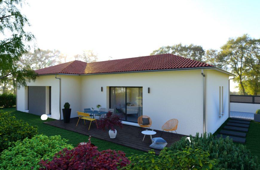 Maison plain-pied contemporain au cœur de Brives-Charensac 43700
