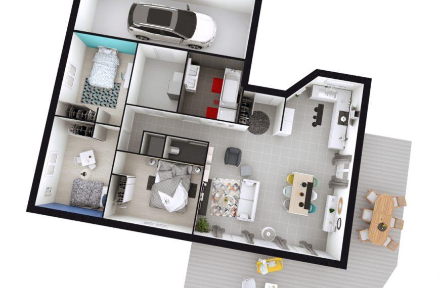 Maison plain-pied contemporaine proche centre du Puy-en-Velay 43000