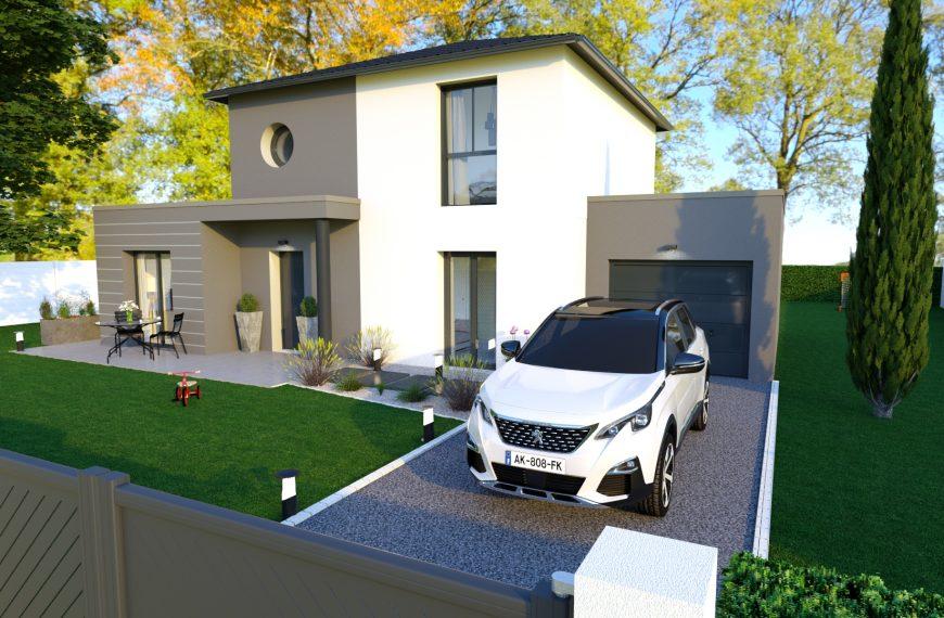 Maison design proche centre de Rosières 43800