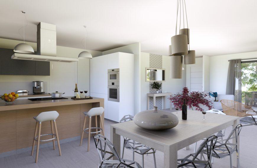 Maison contemporaine près d'Issoire 63500