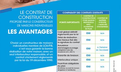Avantages contrat de construction