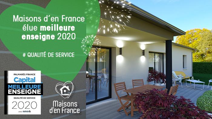 Maisons D En France Elue Meilleure Enseigne Pour La 3eme Annee Consecutive Logivelay